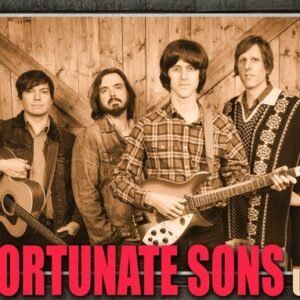 The Fortunate Sons – A tribute to Creedence Clearwater Revival